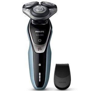现价 £72.5(原价£170.00)Philips Series 5000 干湿两用电动剃须刀 特卖