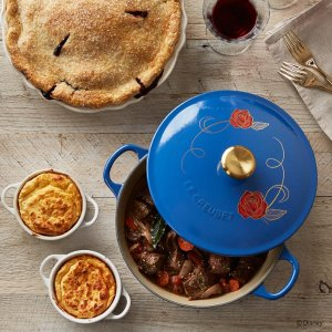 Back in Stock Tomorrow(5/10)Limited Edition: Disney Beautiy and the Beast Cast Iron Soup Pot @ Le Creuset