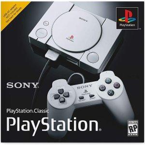 $19.99 补货史低价:Sony PlayStation Classic PS1代复刻游戏主机