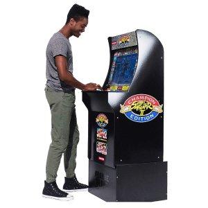 $187.50(原价$299.99)Arcade1Up 街头霸王合集游戏机