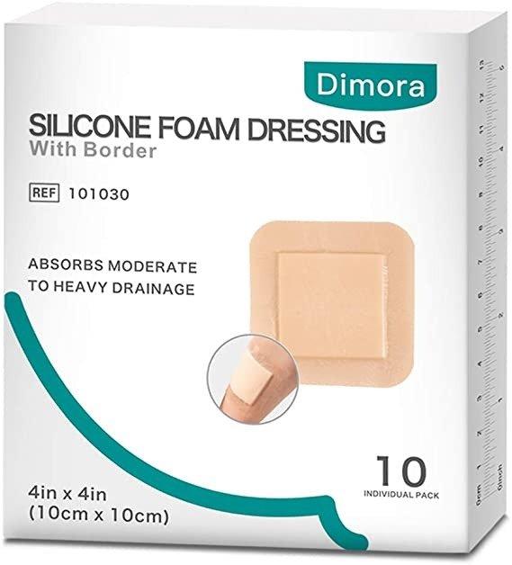 无痛换药 Dimora带粘边硅胶泡沫高端敷料