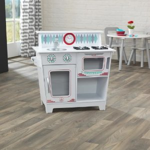 $31.4(原价$69.98)KidKraft儿童小厨房玩具特卖 一起来做大餐吧
