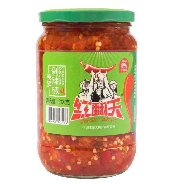 红翻天 纯鲜剁辣椒 700g