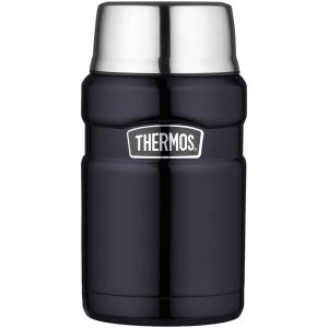 Thermos24盎司 焖烧杯 深蓝色