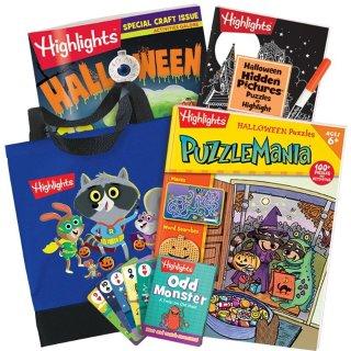7折起Highlights 万圣节主题儿童互动游戏书促销