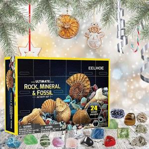 $17.99(原价$35.99)VISY 治愈宝石圣诞倒数日历套装24枚装 一点一点打开神秘惊喜