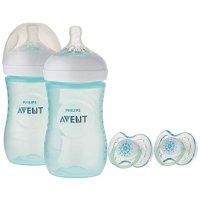 Philips Avent 婴幼儿奶瓶套装+安抚奶嘴2个