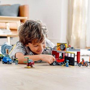 低至7.5折+额外9折Lego 精选城市、忍者、好朋友系列新年好价