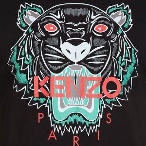 凑单短袖低至¥489 断码快 拼手速Kenzo 史低变相6.7折热卖,虎头T、Logo款式短袖都参加