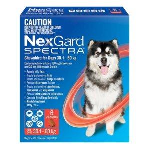 NexGard内服驱虫药 30.1kg - 60kg狗子用