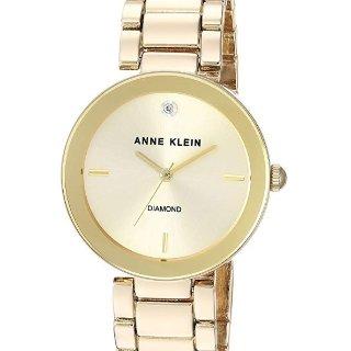 $44.98Anne Klein Women's AK/1362 Diamond-Accented Bracelet Watch