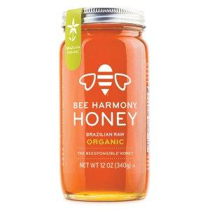 Bee Harmony巴西有机原蜜 12 Ounce