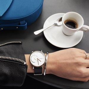 $62.99 (原价$225)史低价:Skagen 精选智能腕表 3种色款