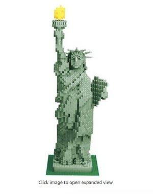 Lego 3450 Statue of Liberty Sculpture 2882 Pieces