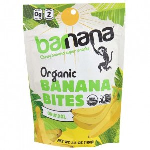 减脂仙女必备Barnana 有机香蕉片100g