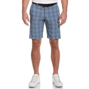 Mens Printed Plaid Short