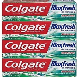 $4.41 包邮Colgate Max 薄荷含氟牙膏 6oz 4支