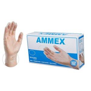 低至100只/$8.39补货:AMMEX 医用级一次性手套热卖