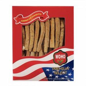 WOHO #102.4美国花旗参长枝中号4oz盒装
