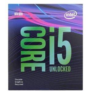 $352(原价$487)睿频4.6GHzIntel Core i5-9600KF 6核 3.7Ghz 台式机处理器