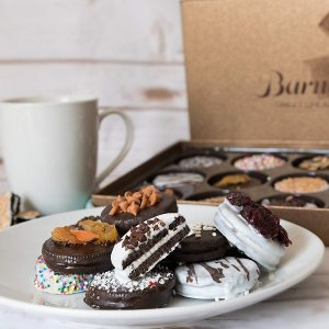 $23.99 亚马逊销量第一Barnett's 夹心曲奇饼干礼盒 12款口味装 上档次的奥利奥