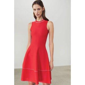 Victoria BeckhamFlared Sleeveless Mini Dress