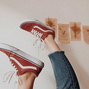 低至6.5折!上新:Vans 官网大促区  各大联名、饼干鞋类似款、经典滑板鞋都参与