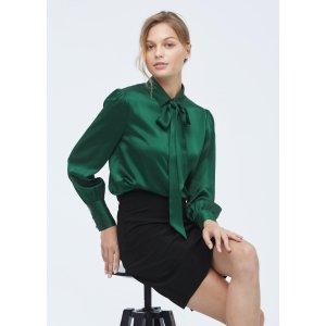 LILYSILKBOGO 40% offMIM 2 in 1 Silk Shirt