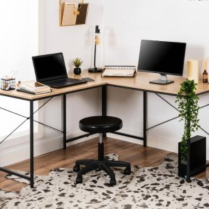 Best Choice Products Modular L-Shaped Office Desk w/Customizable Setup - 94.5in