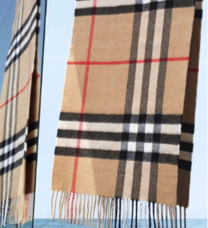 8折 €312收经典羊绒格纹围巾最后一天:Burberry 爆款羊绒围巾 新晋BT美包 新品流行与经典同在