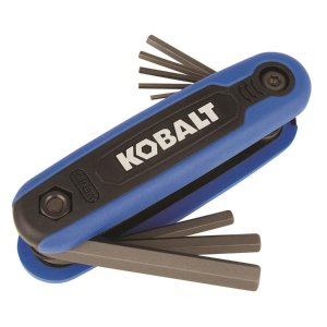 Kobalt 8-key Metric Folding Hex Key Set