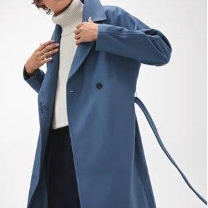 限定8折 刷爆INS的高冷时髦品牌限今天:HM高端线Arket 蓝色周一 快收超美蓝色毛衣 大衣啦