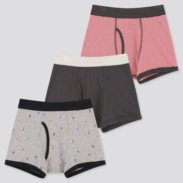 男童内裤3条