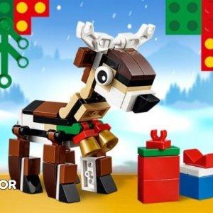 免费驯鹿小套装LEGO®官网 全场购物满额送好礼