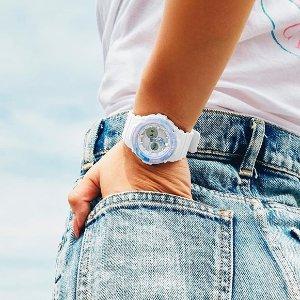 低至5折 爱豆都在戴的少女运动风Casio卡西欧 G-shock、Baby-G等男女运动手表闪促