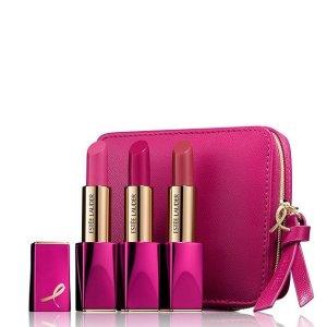 $35Estée Lauder Pink Perfection 3-Piece Lipstick Set