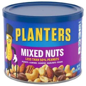 Planters买1送1混合坚果 10.3 oz.