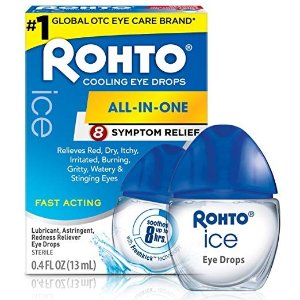 $11.21Rohto Ice All-in-one, Multi-Symptom Relief Cooling Eye Drops, 0.4 Ounce, 3 Count