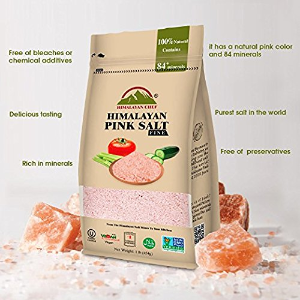 $3.78 + Free ShippingHimalayan Chef 100% Pure Natural Himalayan Pink Salt - 1 LBS