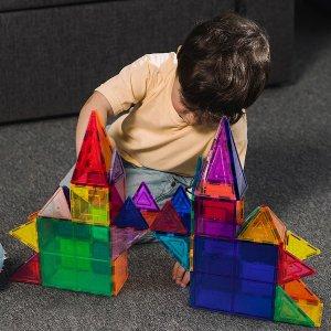 $23.9961-Piece 3D Magnetic Building Tile Play Set
