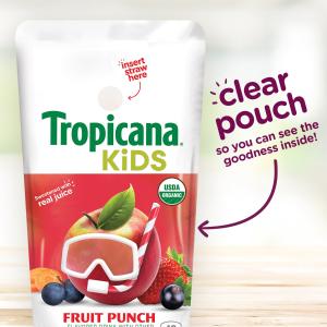$9.7起 1包仅$0.3Tropicana 有机果汁随身包 5.5盎司 32包