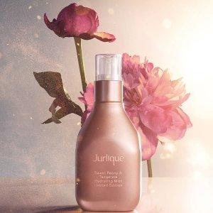 7折 + 额外8.5折Jurlique 全场美妆护肤热卖 收限量玫瑰喷雾,护手霜