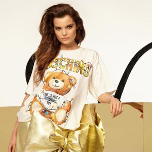 低至额外7.5折 封面T最低$258Moschino 服饰鞋包配饰热卖 收新款圣诞小熊系列