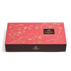 买2送1GODIVA 什锦巧克力饼干礼盒热卖 20颗
