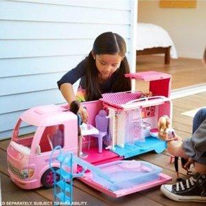 封面豪华RV车5.5折 立省$42Barbie 娃娃玩乐套装促销
