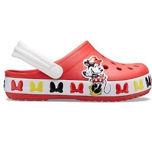 Crocs大童码全可爱米妮儿童洞洞鞋