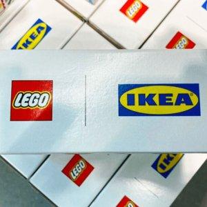 10月1日起在北美及欧洲地区上市新品预告:LEGO x IKEA 合作款收纳搭建盒官宣啦