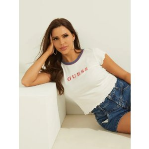 Guess10% off $150Lettuce-Edge Baby Tee |