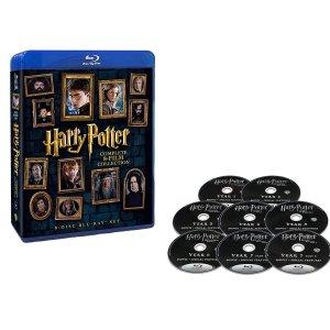 低至3.7折 + 直邮中美Harry Potter全系列蓝光碟