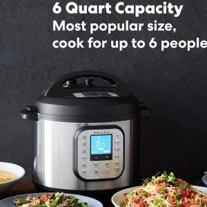 $79.97(原价$89.99)史低价:Instant Pot Duo Nova 7合1多功能电压力锅 6夸脱大容量